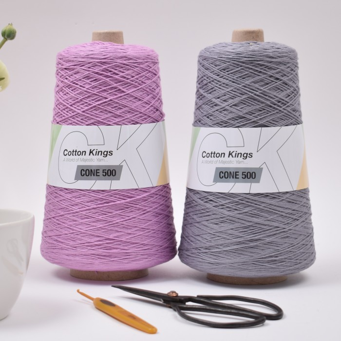 Cone 500 Yarn Cotton Kings