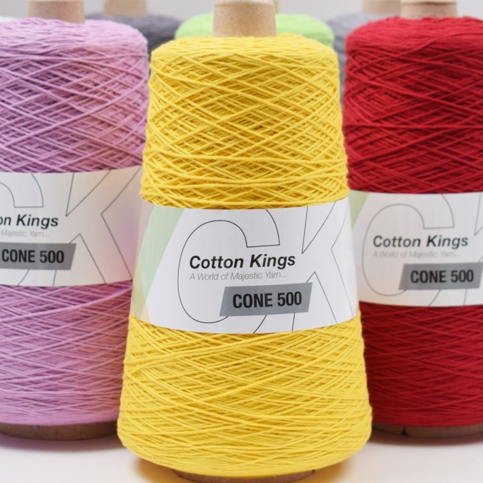 Cone 500 8/4 Garn Cotton Kings