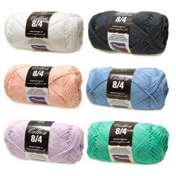 Cotton 8/4 (Fejlparti) Garn Mayflower