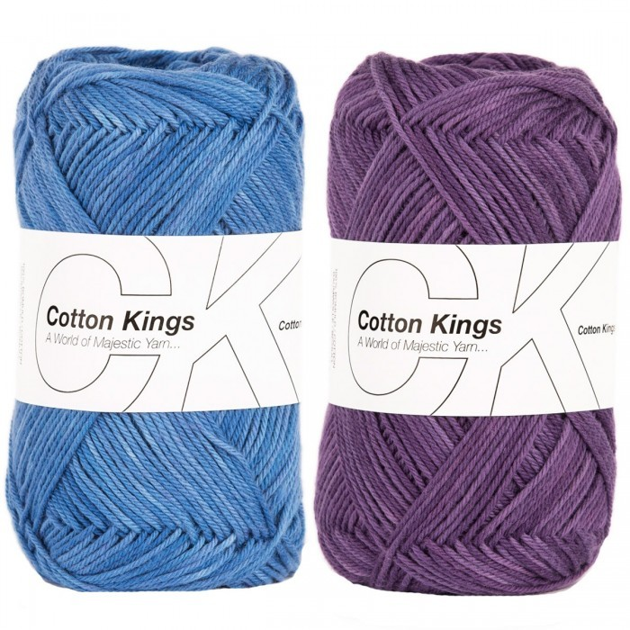 Cotton 8/4 - Soft Print Yarn Cotton Kings