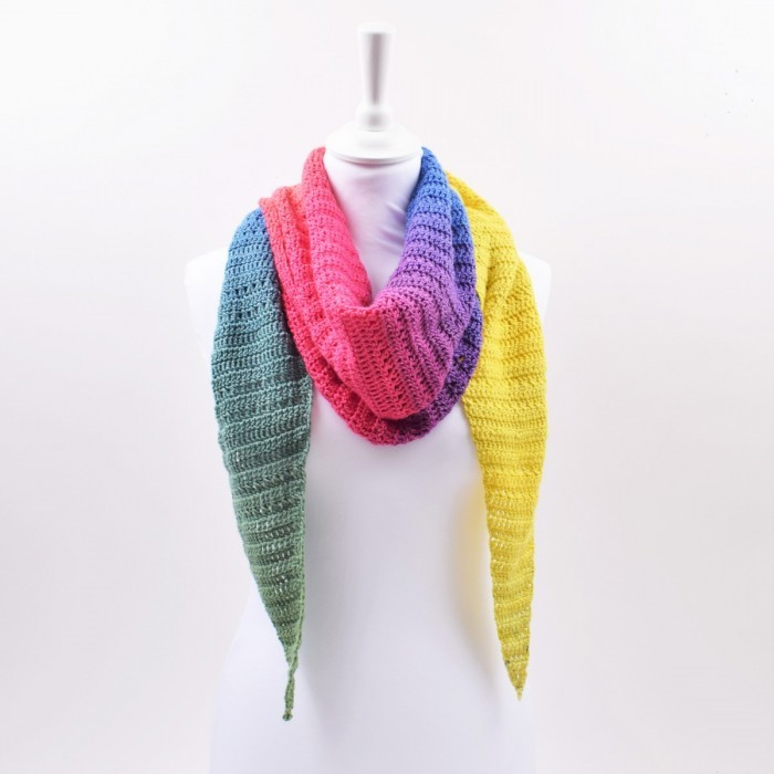 Dolce Harlequin Scarf Patterns
