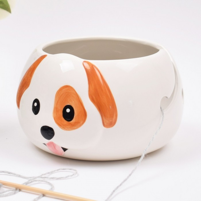 Yarn Bowl - Danny the Dog  Hobbii