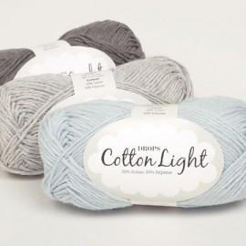 Cotton Light Garn Drops