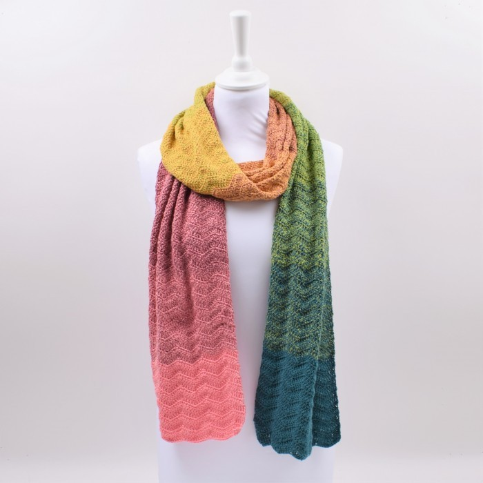Zig-Zag Scarf Patterns