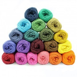 Garnpaket - Cotton 8/4 - Temperaturdecke - 20 Farben Garn & Wolle Mayflower