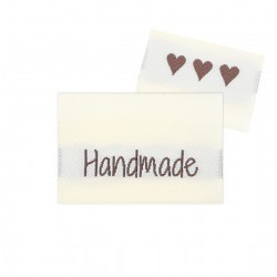 10 Labels - Handmade - 3.5 cm Accessories Go Handmade