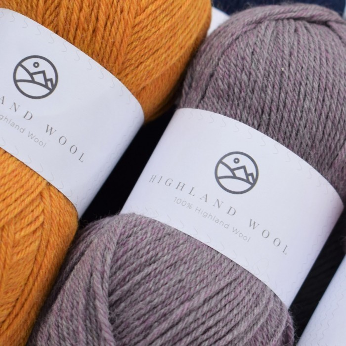 Highland Wool Garn & Wolle Hobbii