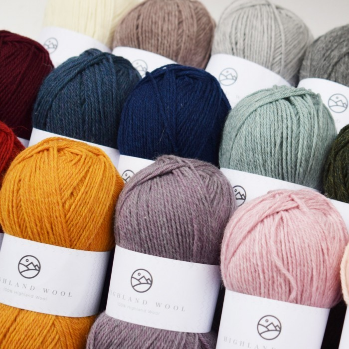 Highland Wool Yarn Hobbii