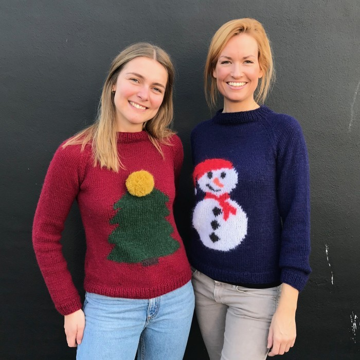 Julia Christmas Sweater Patterns