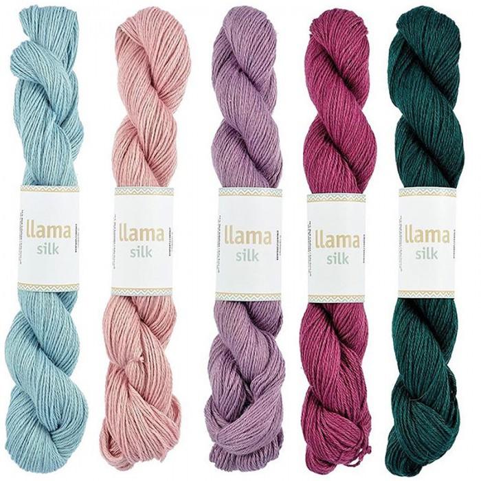 c90f64f88f9 Llama Silk | Yarn | Järbo - Hobbii.com
