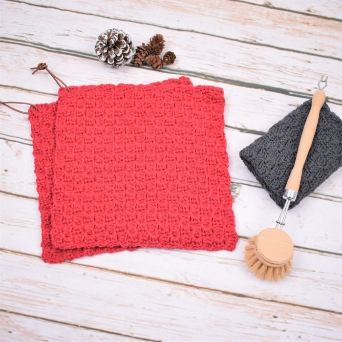 """C2C"" Christmas potholder Patterns"