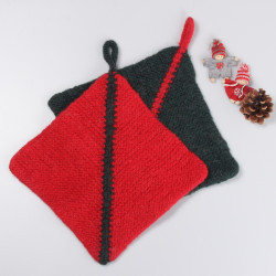 Felted Christmas Potholders Patterns