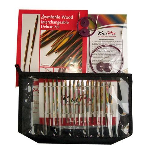 wooden needles 40 cm 2-8mm Knitpro SYMFONIE circular needles