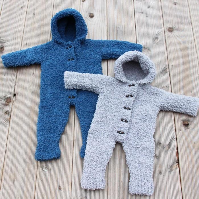 2b11a26a6f9 Teddy Baby Køredragt (Strik) | Opskrifter | Go Handmade - Hobbii.dk