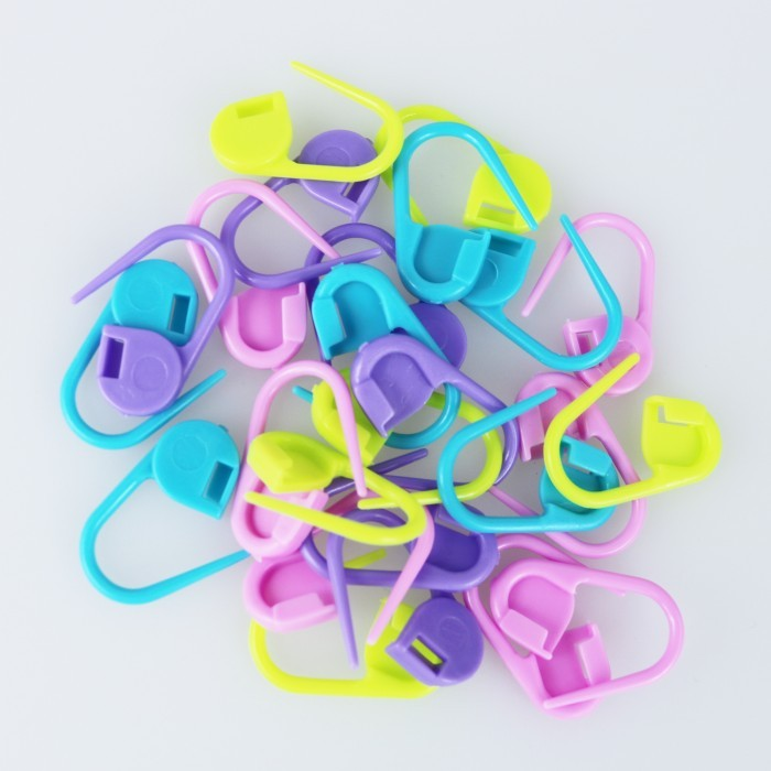 Stitch Markers - 25 pcs. Accessories Hobbii