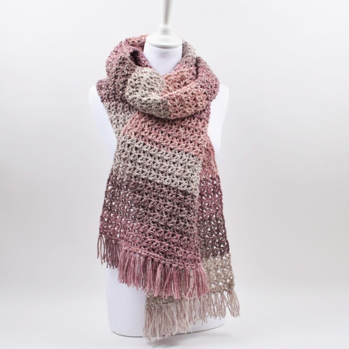 Lollipop Melange Scarf Patterns