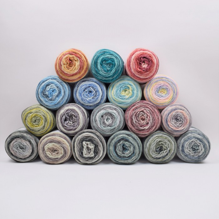 Lollipop Melange Yarn Hobbii