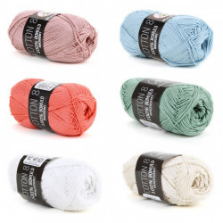 Cotton 8/4 Merceriseret Garn Mayflower