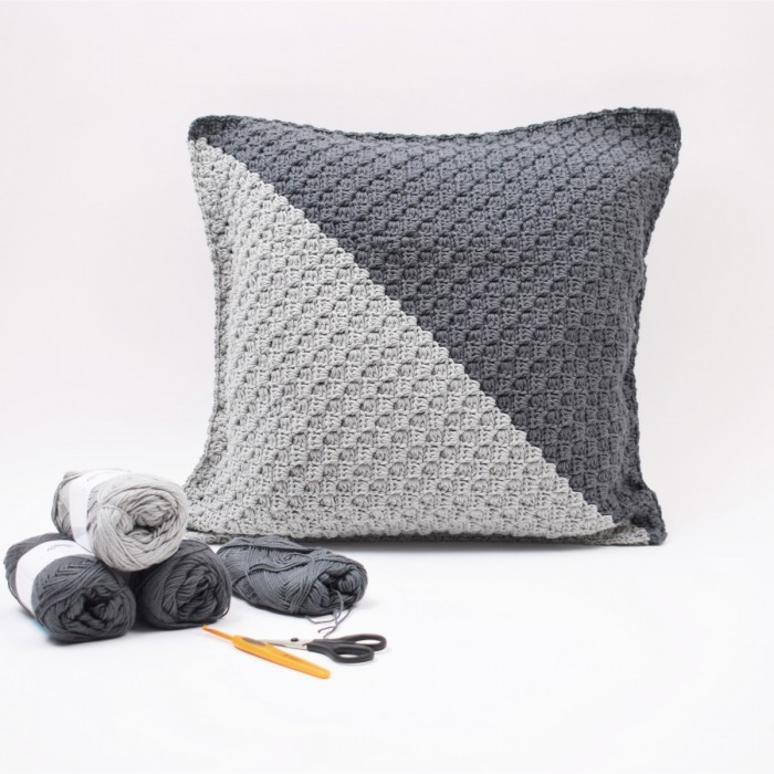 """C2C"" Cushion – Mix - Cotton  Patterns"