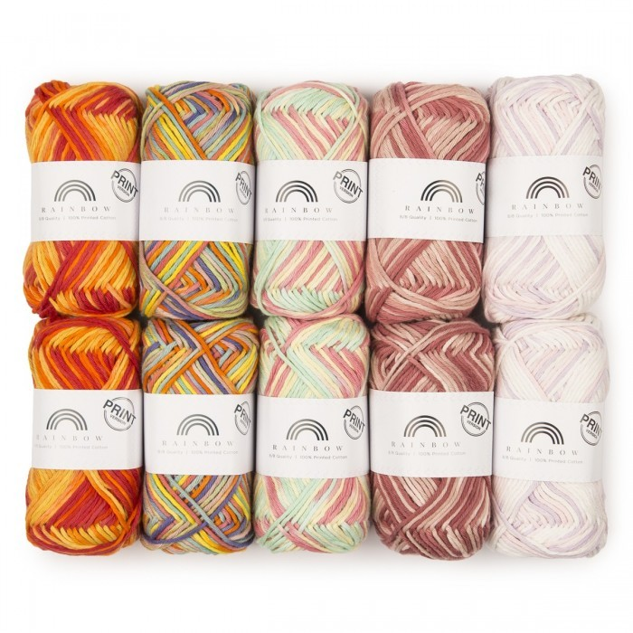 Lot mystère - Rainbow Cotton 8/8 Print Fils Hobbii