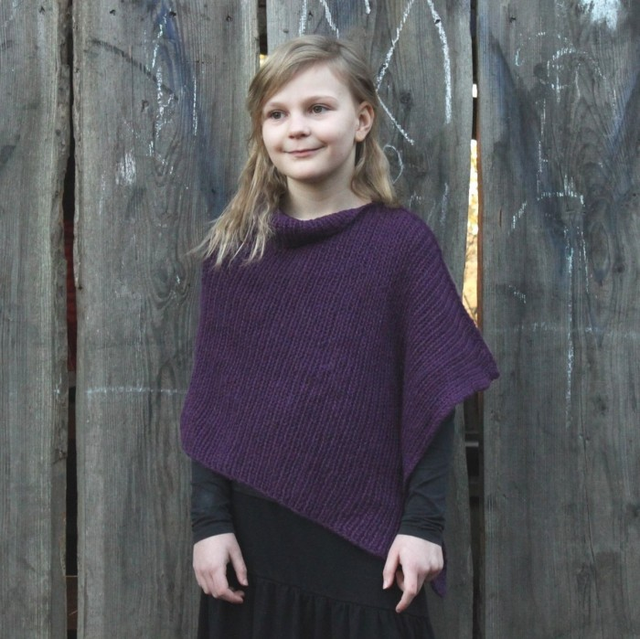 Malene Poncho - Child Patterns