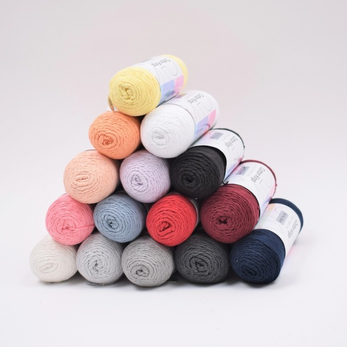 Pull Skein Cotton 100g Yarn Cotton Kings