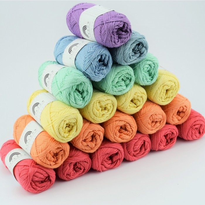 Rainbow Cotton 8/4 Garn