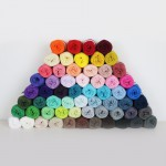 Rainbow Cotton 8/4 Fils Hobbii