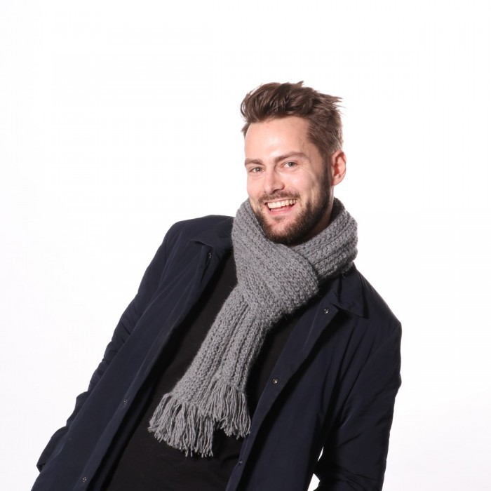 Casual Rib Scarf Patterns