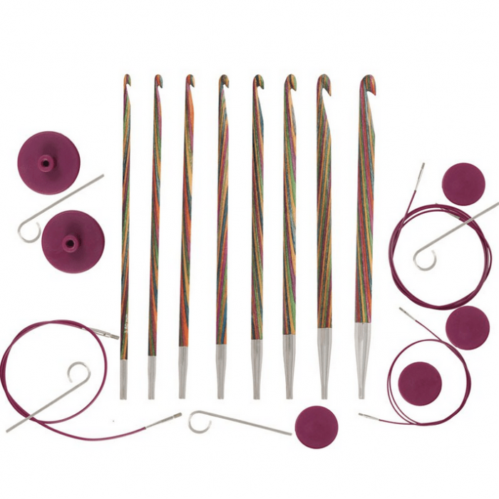 Symfonie Tunisian Crochet Hook Set - 8 Sizes Crochet Hooks KnitPro