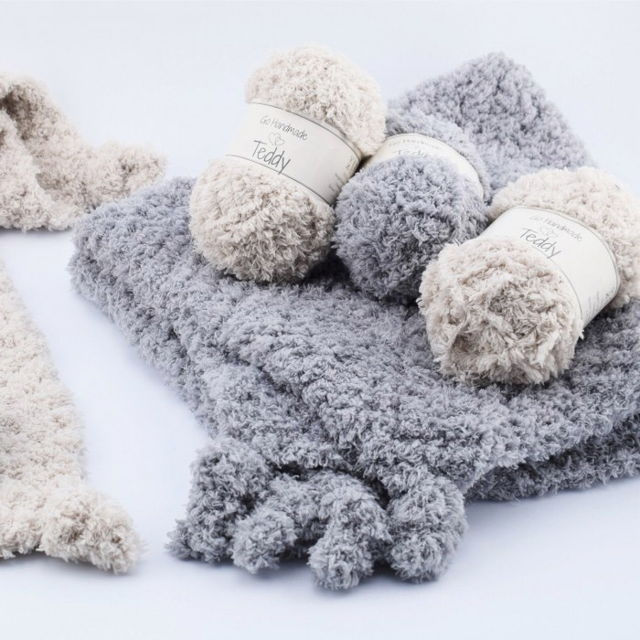 Teddy Garn Wolle Go Handmade Hobbiide