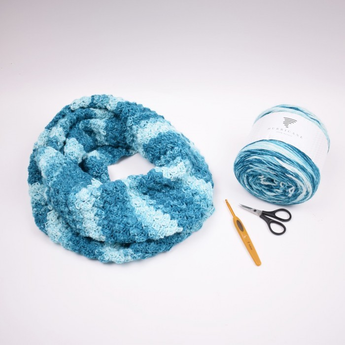 Hurricane Infinity Scarf Patterns