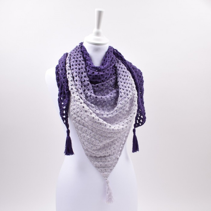 Granny shawl - Version 2 – Twirls Patterns