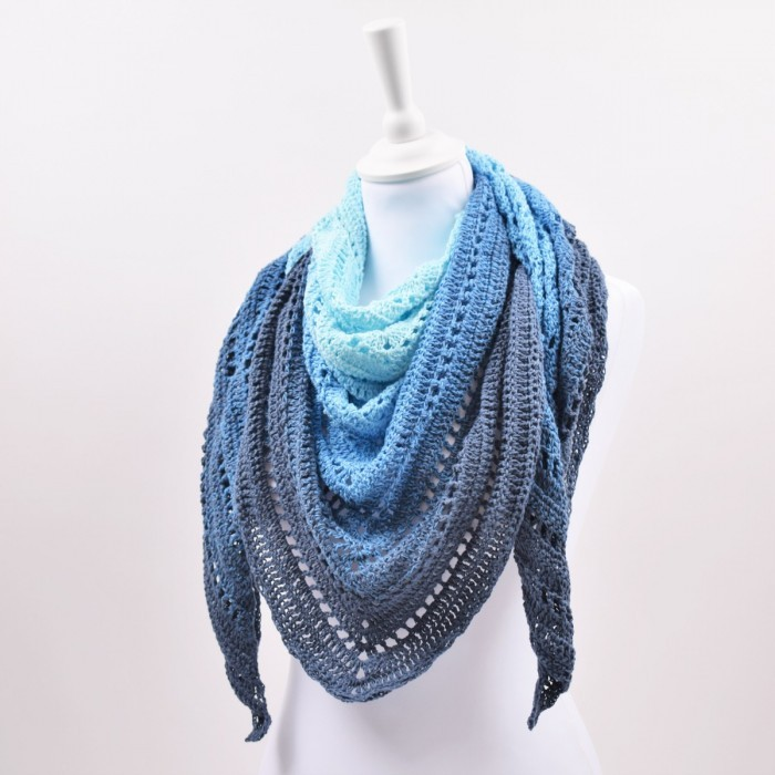 Classical Attitude Shawl - Twirls Patterns
