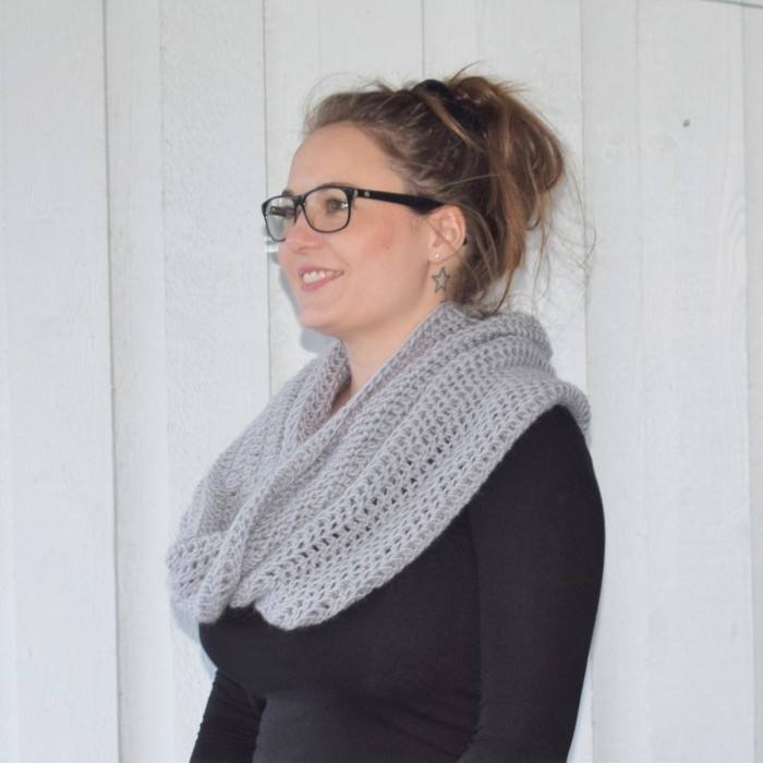 Winter Wool Wrap - Kort Patronen
