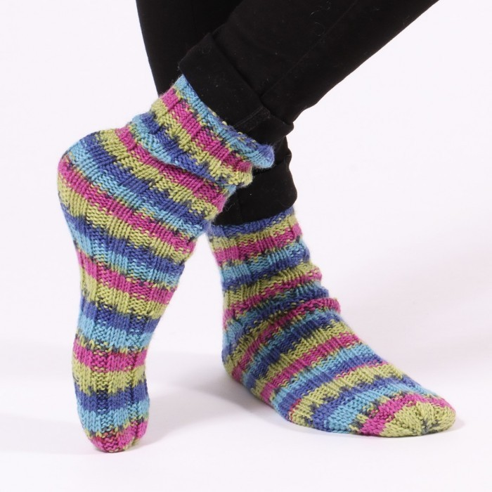XL Twisted Tube Socks Patterns