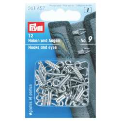Hooks and eyes Accessories Prym