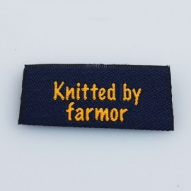 Label - Knitted by farmor Tilbehør