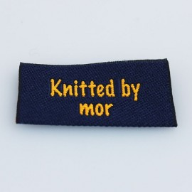 Label - Knitted by mor Tilbehør